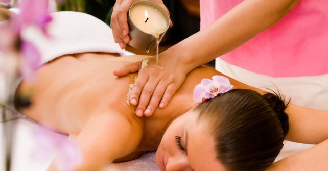 wetlife nibionno_CANDLE MASSAGE